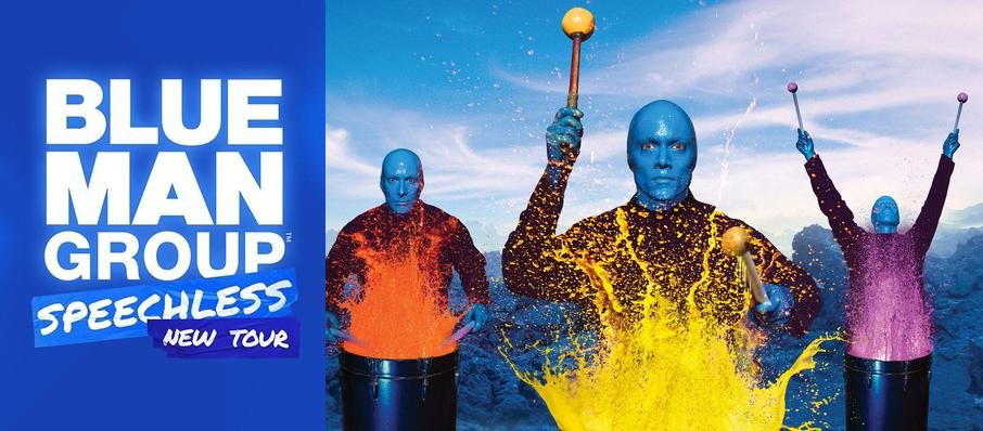 Blue Man Group at Cape Fear Community College's Wilson Center